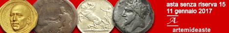 Banner Artemide - Asta numismatica senza riserva #15