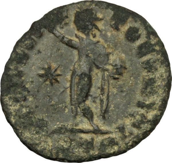 Reverse image of coin 121