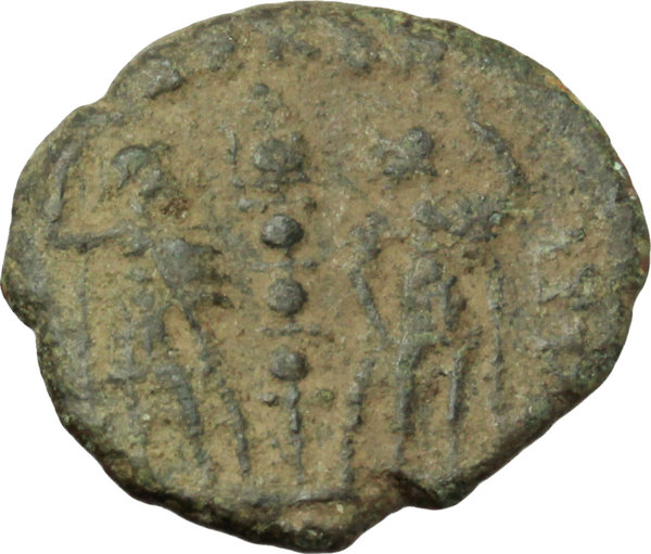 Reverse image of coin 123