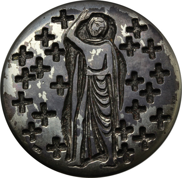 Reverse image of coin 376
