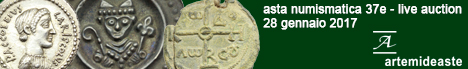 Banner Asta Numismatica 37E - Artemide Aste