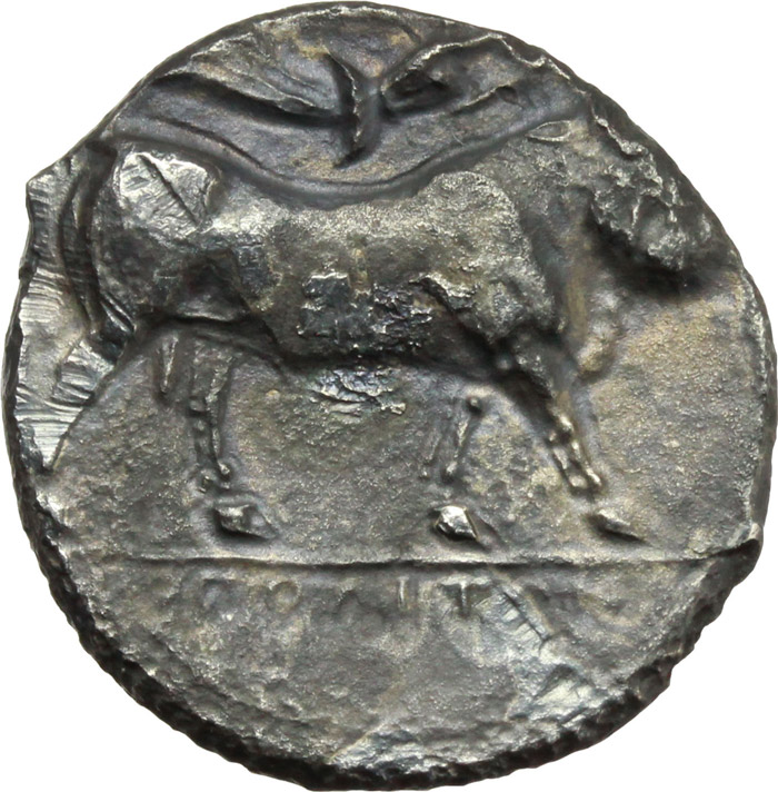Danube Region Ar Didrachm 200 Bc Imitating Philip Ii Of Macedon Celtic