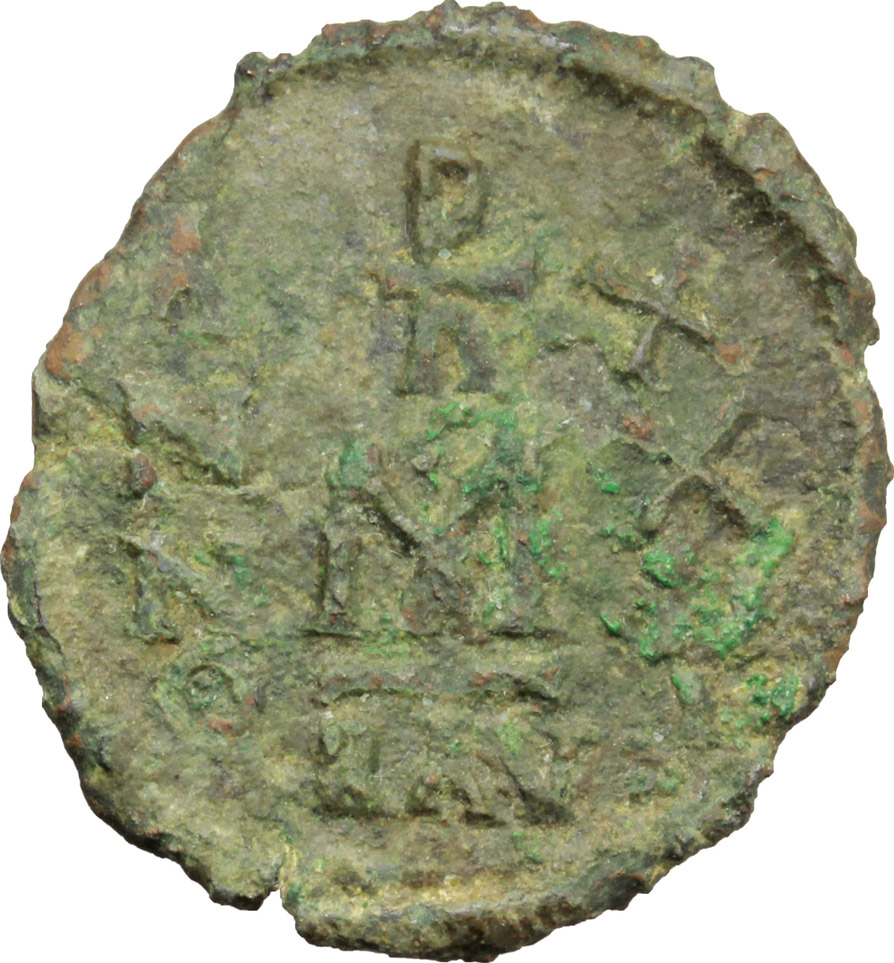 Reverse image of coin 435