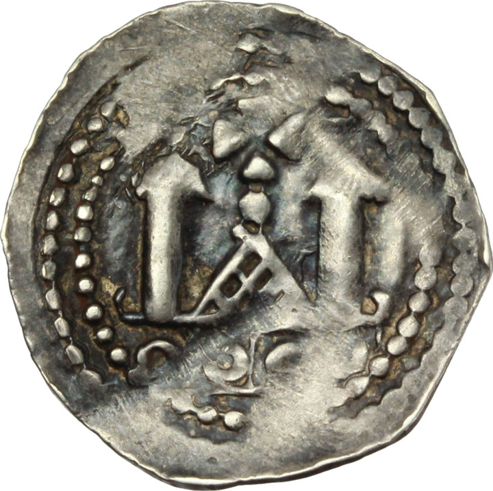 Reverse image of coin 501