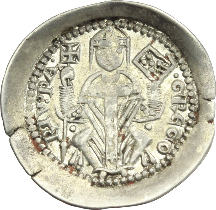 Reverse image of coin 502