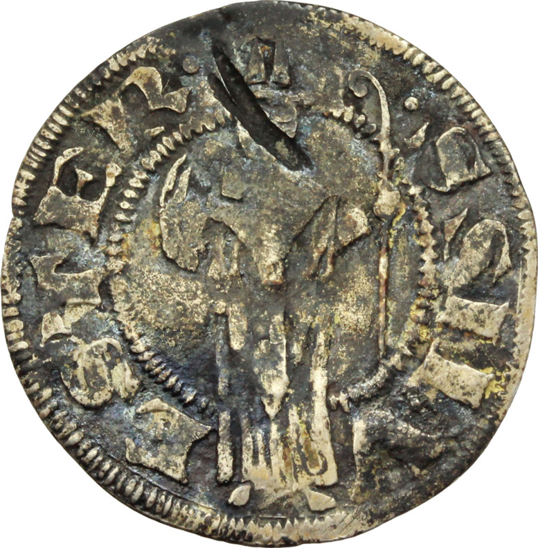 Reverse image of coin 515