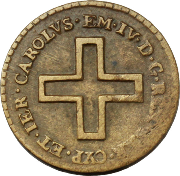 Reverse image of coin 655
