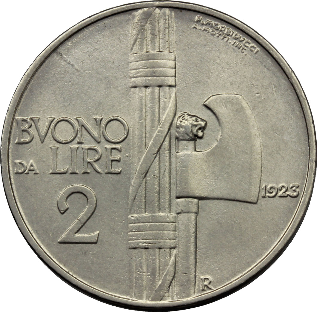 Reverse image of coin 666