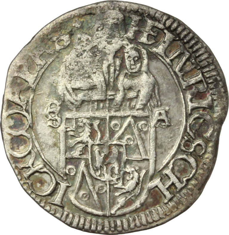 Reverse image of coin 681