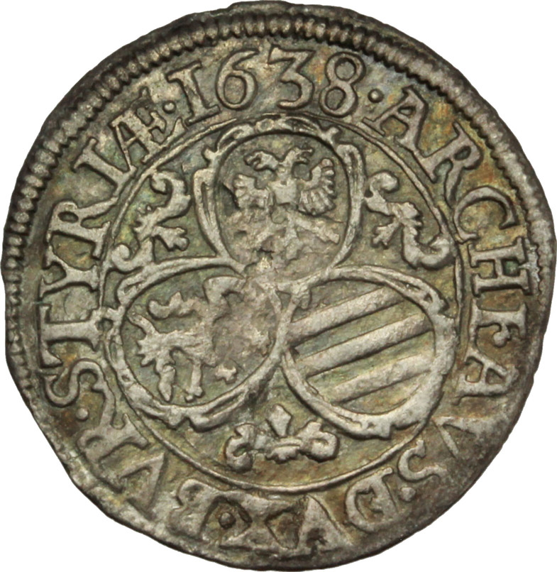 Reverse image of coin 685