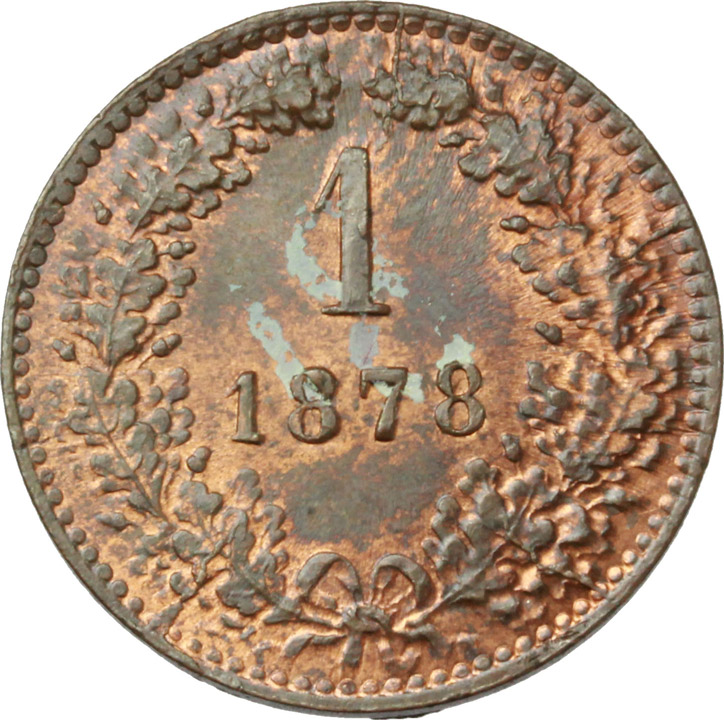 Reverse image of coin 692