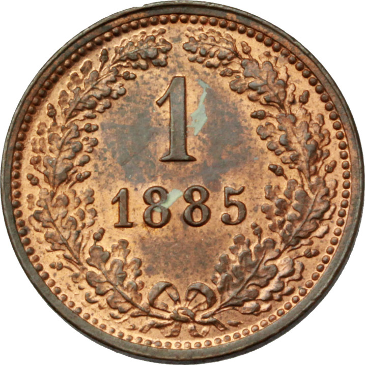 Reverse image of coin 693