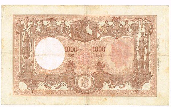 D/ REPUBBLICA ITALIANA 1000 LIRE GRANDE M 12/10/1946