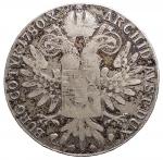 R/ Monete Estere - Austria. Maria Teresa. Tallero 1780. AR. Peso gr. 27,93. Diametri mm. 41,08. BB. Patina.
