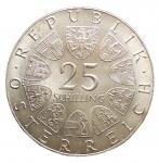R/ Monete Estere - Austria. 25 Scellini 1973. Ag. FDC/FS. Segnetti.