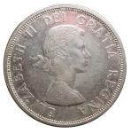 D/ Monete Estere - Canada. 1 Dollaro 1964. Ag. qFDC. R.