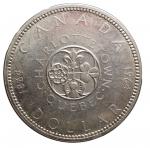 R/ Monete Estere - Canada. 1 Dollaro 1964. Ag. qFDC. R.