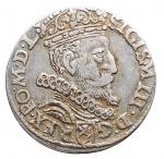 D/ Monete Estere - Polonia. Sigismondo III. Grosso da 3 sloti. Ag. Peso gr. 2,15. Diametro mm. 19,68. Bel BB+.