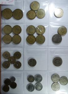 D/ Monete Estere. Spagna. Lotto di 34 Monete. Mediamente BB+.g.f.