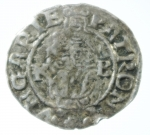 D/ Monete Estere. Ungheria. Denaro 1571. Ag. Peso 0,55 gr. BB.