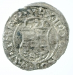 R/ Monete Estere. Ungheria. Denaro 1571. Ag. Peso 0,55 gr. BB.
