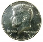 D/ Monete Estere. USA.Mezzo dollaro 1967. SPL.