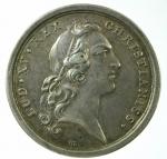 D/ Medaglie. Francia. Luigi XV. 1747. COMMUNE PERENNITATIS VOTUM. BB+.