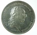 D/ Medaglie. Francia. Luigi XVI. 1793. HEU NIMIS SERO MANANT. BB+.
