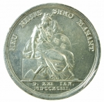 R/ Medaglie. Francia. Luigi XVI. 1793. HEU NIMIS SERO MANANT. BB+.