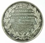 R/ Medaglie. Francia. Carlo X. Per la visita di Colmar il 10 Settembre 1828. SPL.