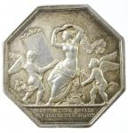 D/ Medaglie. Francia. 1830. Medaglia per la ricostituzione della Manifattura Reale Des Glaces de St.Gobain. BB+.