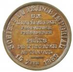 R/ Medaglie. Francia. 1862. Società del Principe Imperiale a Protezione dell' Infanzia al lavoro. 15 Settembre 1862. SPL+.