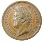 D/ Medaglie. Francia. Luigi Filippo I. 1842. L' ARMEE AU DUC D'ORLEANS PRINCE ROYAL. SPL+.