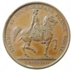 R/ Medaglie. Francia. Luigi Filippo I. 1842. L' ARMEE AU DUC D'ORLEANS PRINCE ROYAL. SPL+.