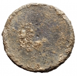 R/ Varie - Venezia. XVII sec. Tappo in piombo di Teriaca.Peso gr 29,57. Diametro mm 38,7 x 40,2. Discreta/Buona conservazione. RR.