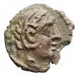 D/ Repubblica Romana - Dopo il 211 a.C. Quadrante anonimo.AE. Peso gr. 1,54. Diametro mm. 15,2. BB+.