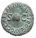 D/ Impero Romano - Caligola. 37-41 d.C. Quadrante. D/ PON M TR P IIII COS TERT nel campo RCC. R/ C CAESAR DIVI AVG PRON AVG Pileo tra SC. Peso 3,02 g. Diametro 17,5 mm. Bel BB+. Patina verde.
