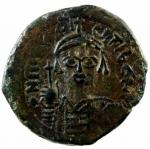 D/ Bizantini. Maurizio Tiberio. 582-602 d.C. Follis. Æ. D/ Ô N MAUGI C N P AUT, Busto frontale. R/ M ANNO e G III. Peso 11,87 gr. Diametro 28,44 mm. BB+.w
