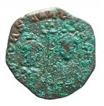 D/ Bizantini - Costantino VII. 913-959 d.C. Follis. AE. Costantinopoli. D/ CONSTANT CE ZOH b. I busti di Costantino e Zoe coronati di fronte. L'imperatore indossa Ioros, la madre una clamide. Al centro croce patriarcale. R/ +CONS/TANTINO/C E ZOH bA/ SILIS RO/MEON in cinque righe. Sear 1758. D.O. 22. Peso gr. 6,22. Diametro mm. 24,4. BB. Intonso. Patina con sedimenti verdi.