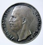 D/ Casa Savoia. Vittorio Emanuele III. 10 Lire 1929 ** Biga. Ag. Gig 58a. BB+. NC.