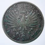 R/ Casa Savoia. Vittorio Emanuele III. 1900-1943. 2 lire 1902. AG. Pag. 726. BB. R.