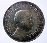 D/ Casa Savoia. Vittorio Emanuele III. 2 lire 1911 Quadriga veloce. BB. RR.