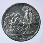 R/ Casa Savoia. Vittorio Emanuele III. 2 Lire 1914. Quadriga Briosa. Pagani 737. Peso 10,02. BB+. Colpo al bordo.