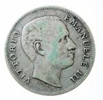D/ Casa Savoia. Vittorio Emanuele III. 1 Lira 1905. Ag. Gig.129. BB\BB+.