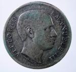 D/ Casa Savoia. Vittorio Emanuele III. 1 Lira 1907 Aquila. Ag. Pagani 7767. BB.