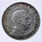 D/ Casa Savoia. Vittorio Emanuele III. 1 lira 1913. Quadriga veloce. BB+.