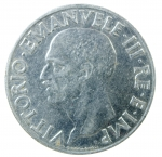 R/ Casa Savoia. Vittorio Emanuele III. 1900-1943. Lira 1941. Magnetica. AC. Pag. 797. SPL. R.