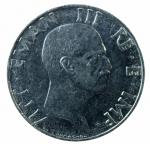 R/ Casa Savoia. Vittorio Emanuele III. 50 centesimi 1943. Magnetica. Gigante 188. SPL. R.