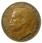 D/ Casa Savoia. Vittorio Emanuele III. 10 Centesimi del Cinquantenario 1911. Pagani 863. peso 10,00 gr. Diametro 30 mm. BB.