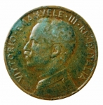 R/ Casa Savoia. Vittorio Emanuele III. 1900-1943. 5 Centesimi 1913 Donna su prora. Pag. 895. qBB.